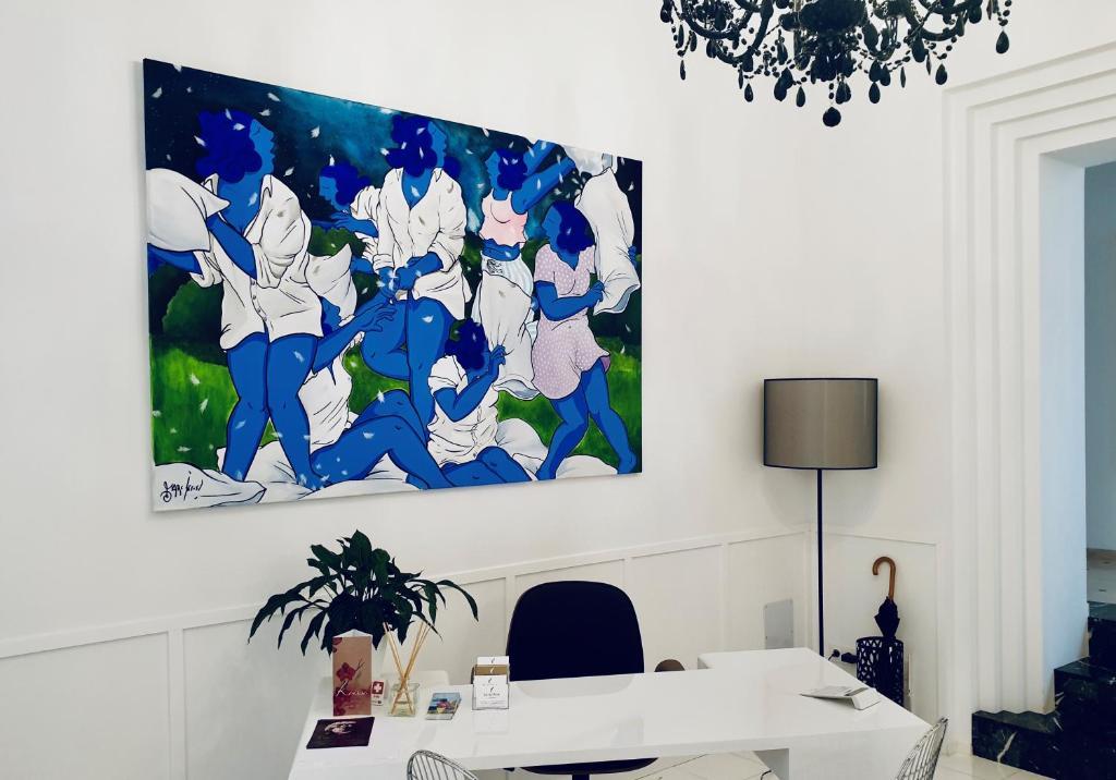 Zona business o sala de conferencias en Divina Suites Hotel Singular -Adults Only