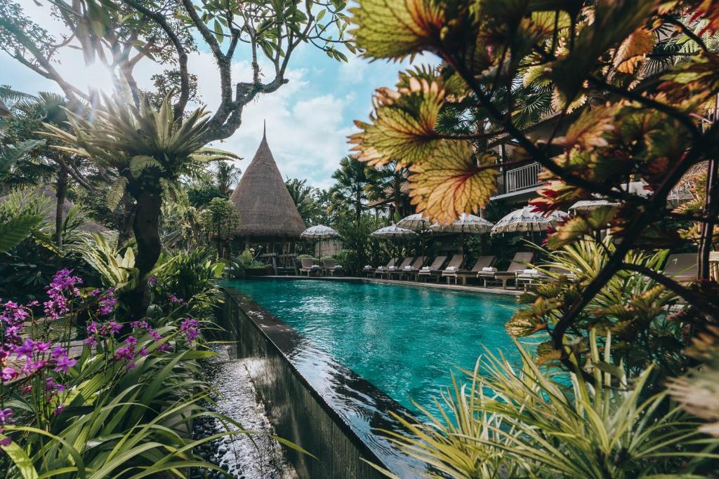 The swimming pool at or near The Alena Resort by Pramana