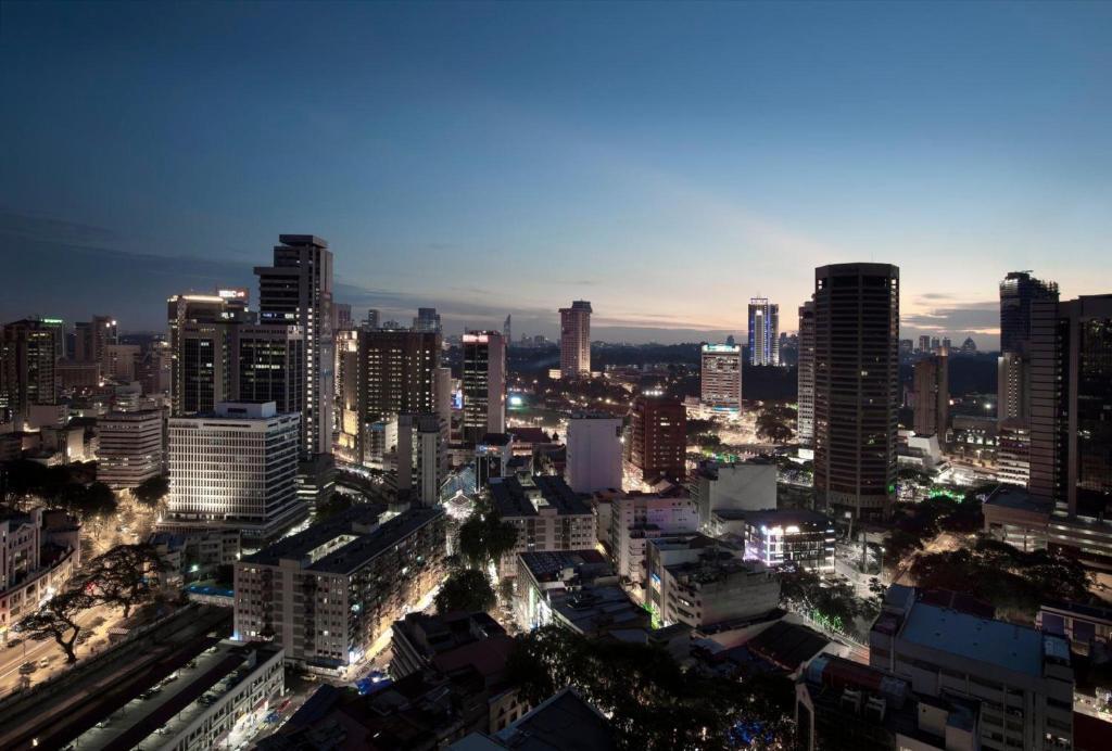 A bird's-eye view of Silka Maytower Kuala Lumpur