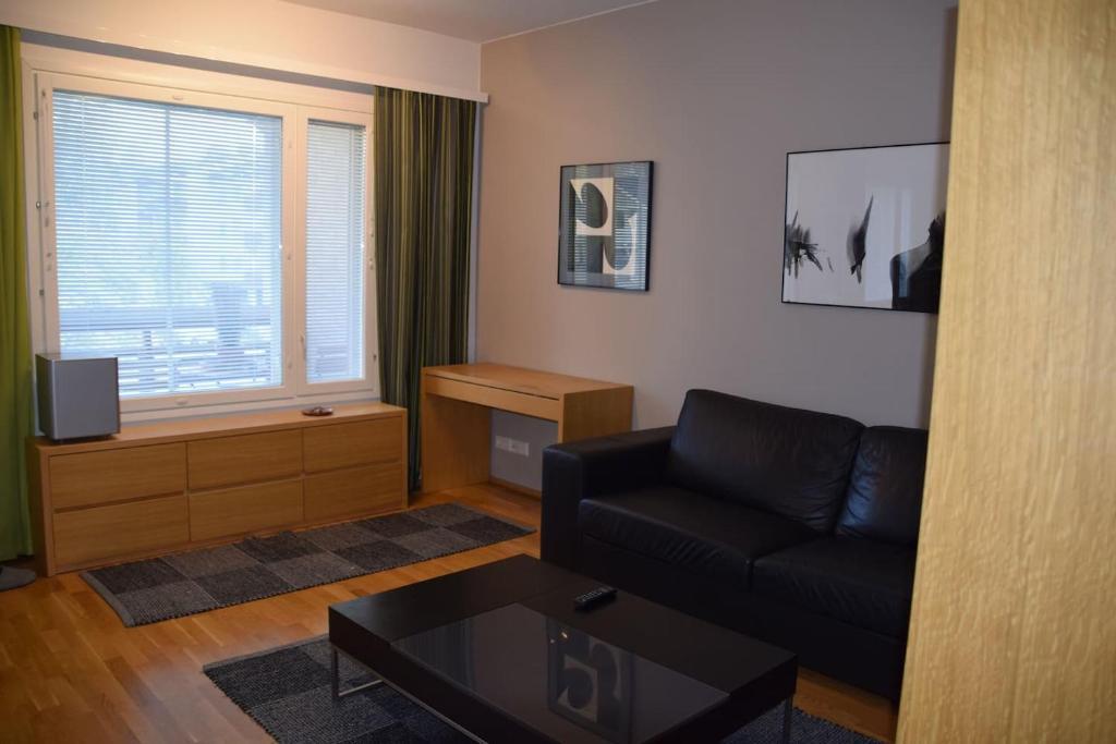 Oleskelutila majoituspaikassa Jack´s apartment