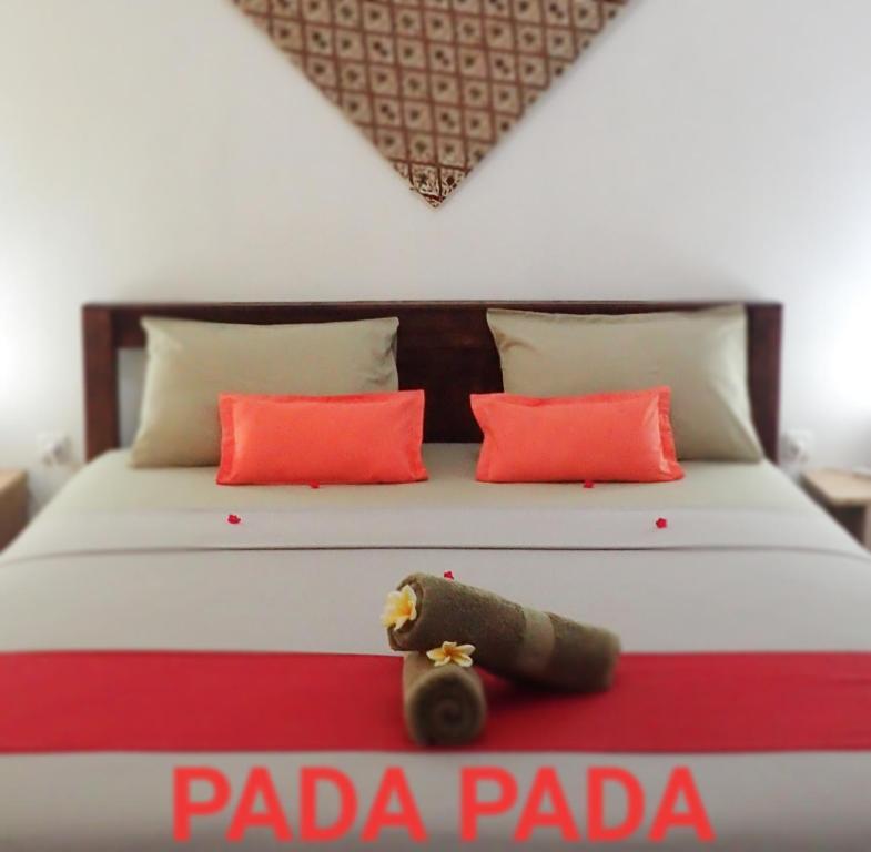 Un ou plusieurs lits dans un hébergement de l'établissement Pada Pada Gili Air
