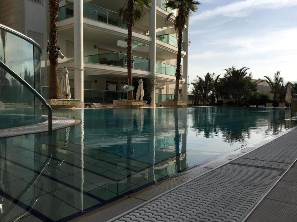 The swimming pool at or near Paradise