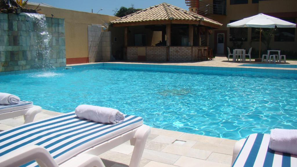 The swimming pool at or near Pousada Vale Del Sol
