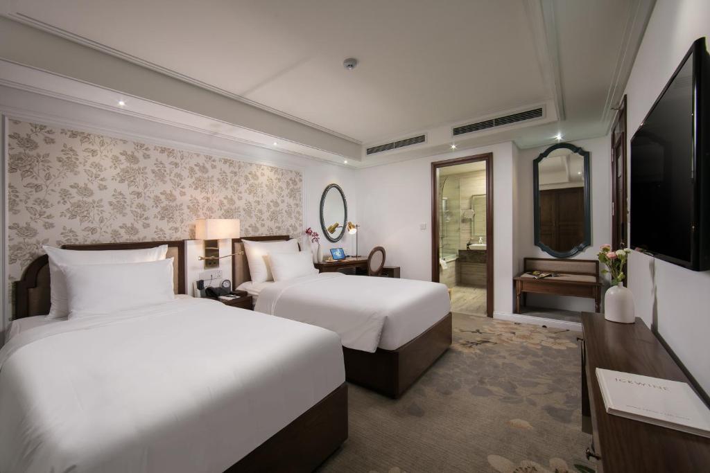 Phòng Oriental Pearl 2 Giường Đơn