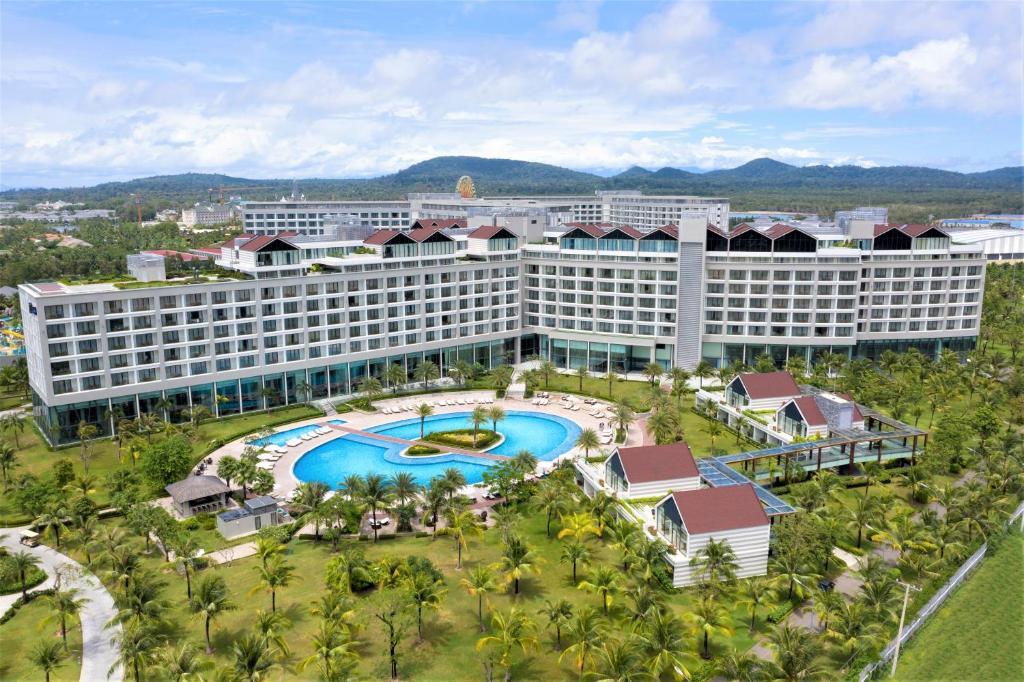 Radisson Blu Resort Phu Quoc с высоты птичьего полета
