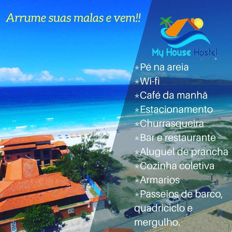 My House Hostel Cabo Frio