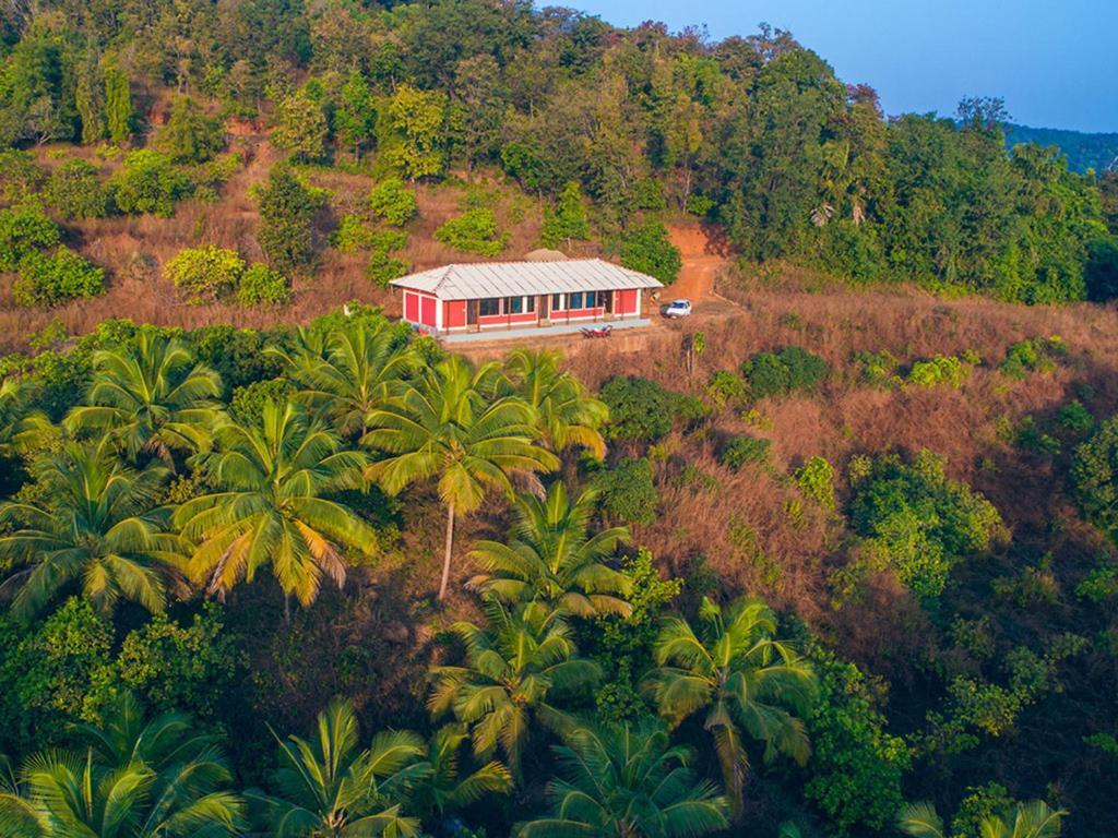 A bird's-eye view of Suryodaya Nature Retreat