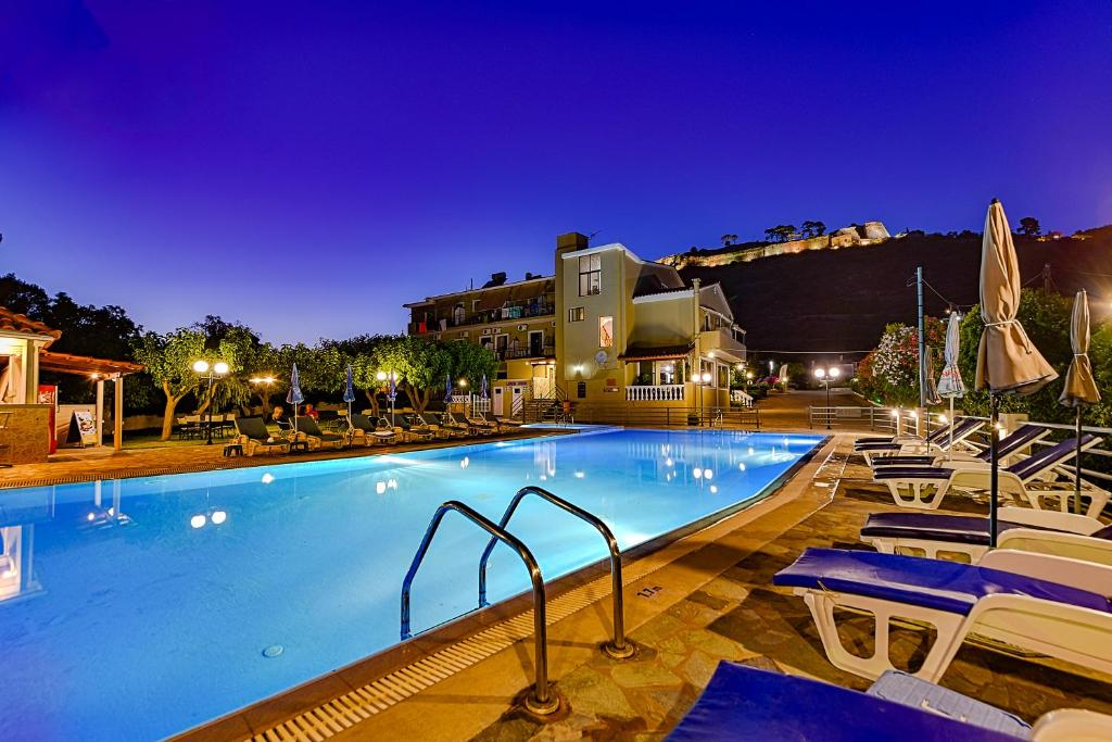 The swimming pool at or near Ionis Hotel