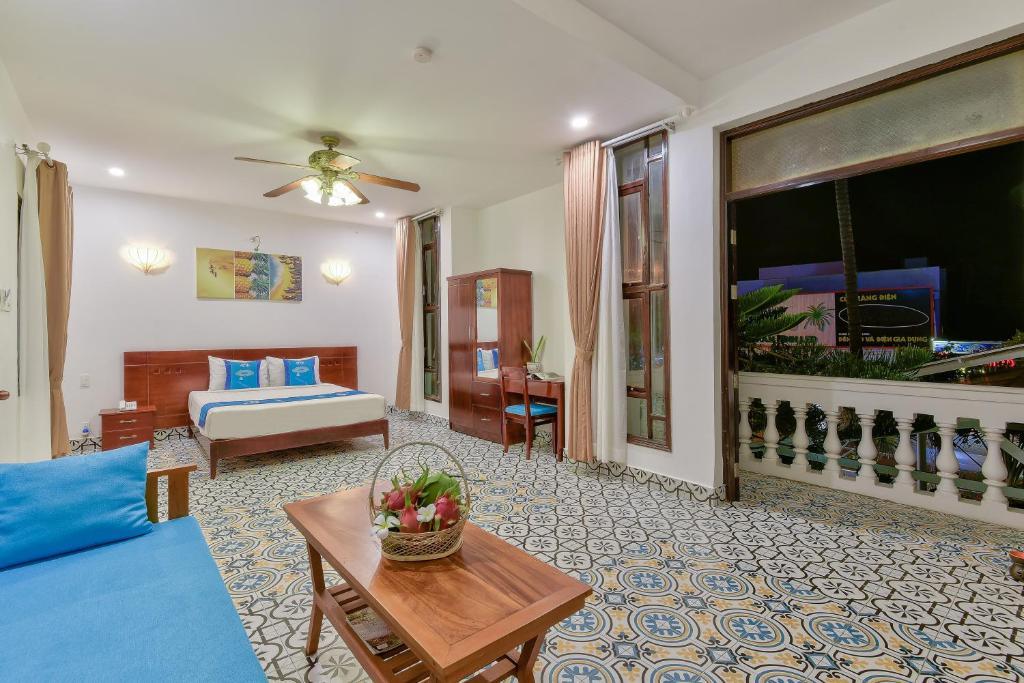 Phòng có Giường cỡ Queen với Bồn tắm Spa