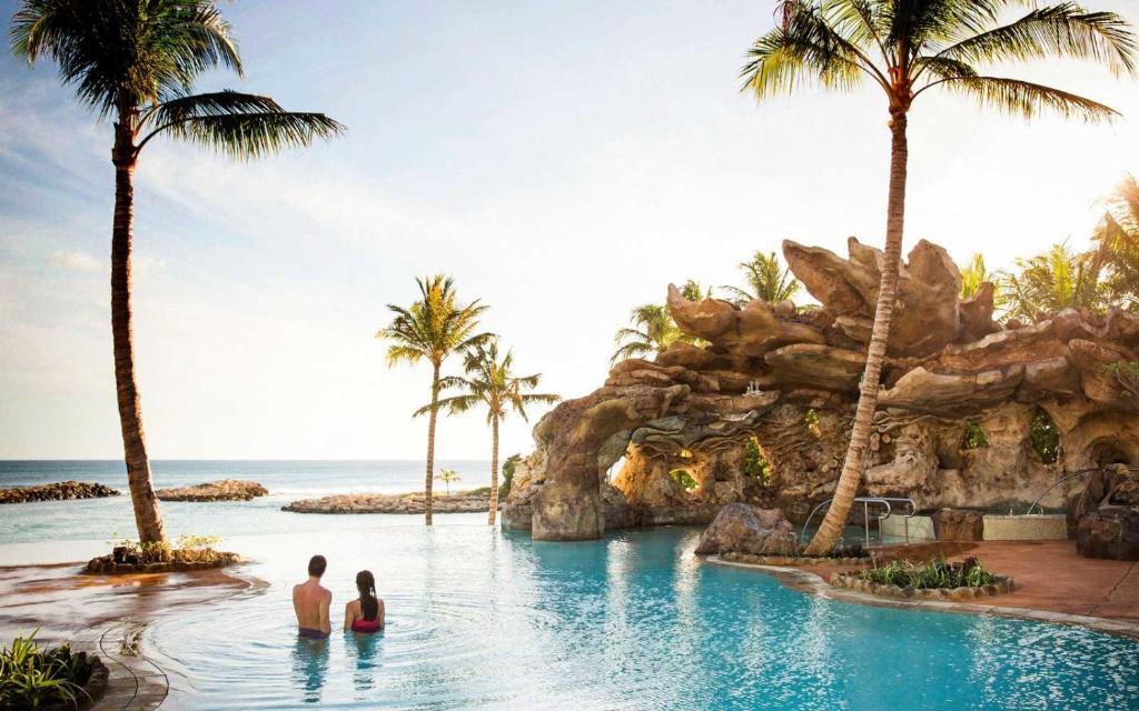 The swimming pool at or near Aulani, A Disney Vacation Club Villa, Ko Olina, Hawai'i