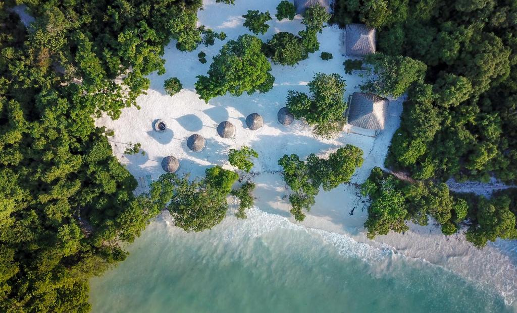 Vue panoramique sur l'établissement Pearl Beach Resort & Spa Zanzibar