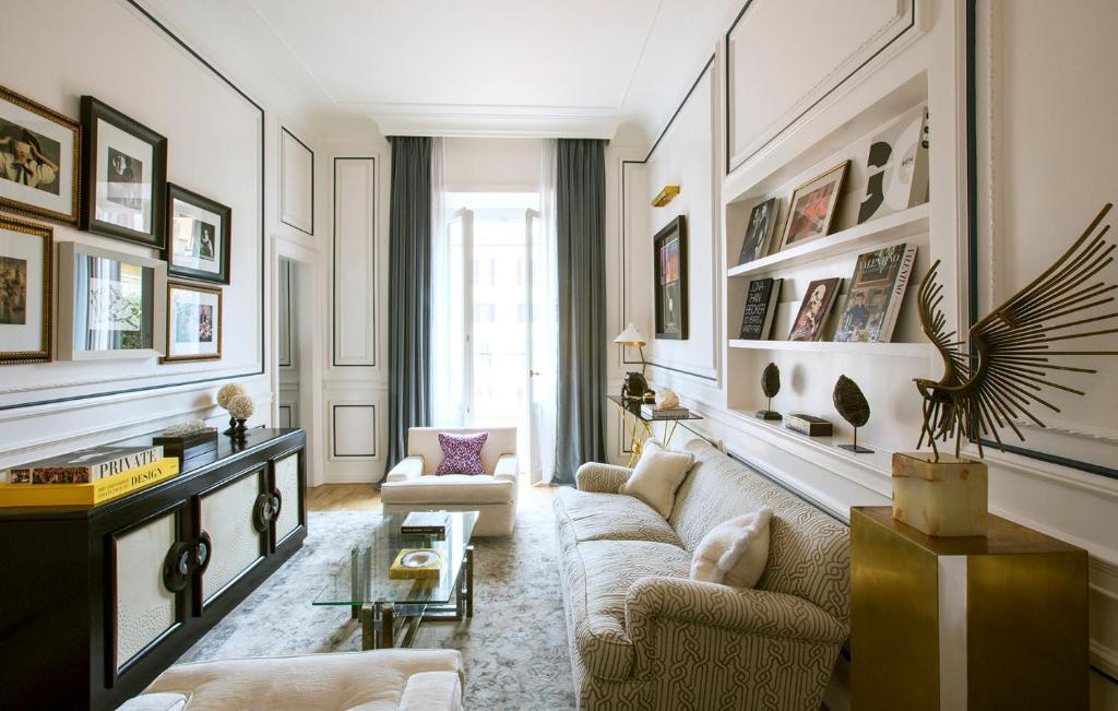 Area soggiorno di Palazzo Dama - Preferred Hotels & Resorts