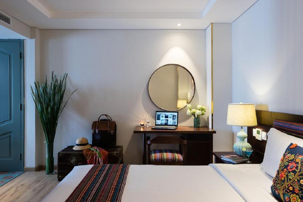 Suite Giường đôi/2 Giường đơn Nhìn ra Thành phố