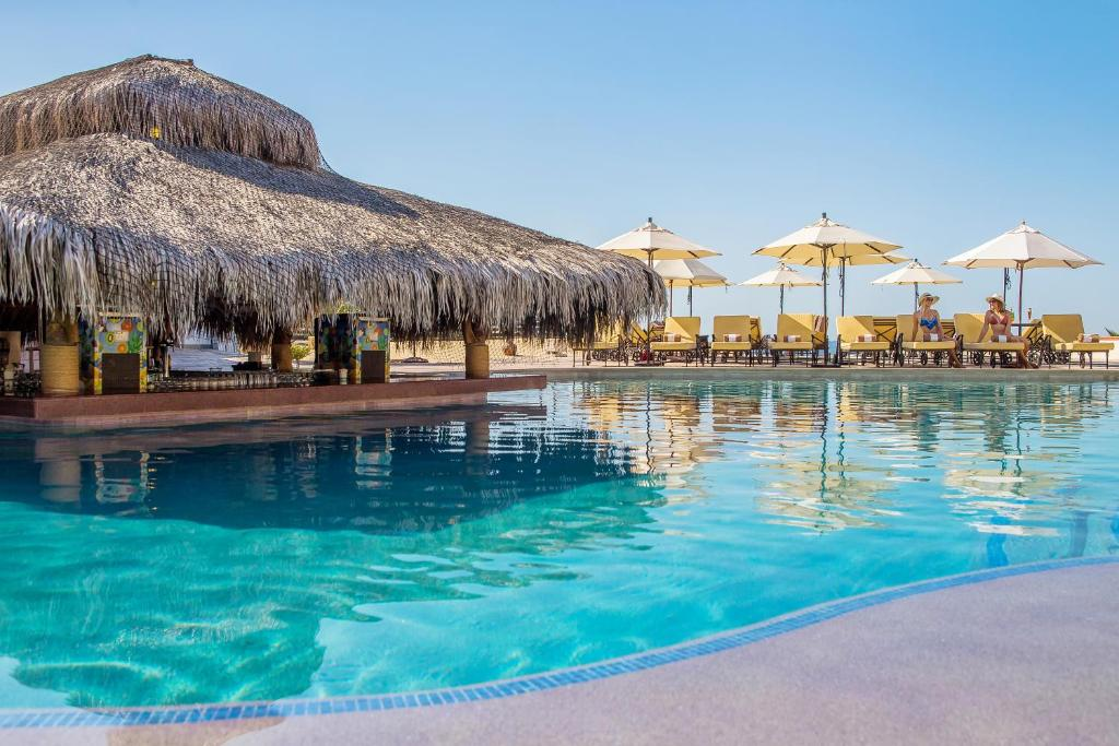 The swimming pool at or close to Solmar Resort