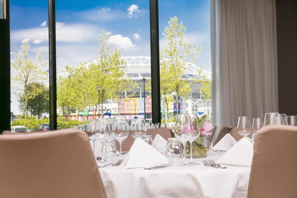 Restauracja lub miejsce do jedzenia w obiekcie Holiday Inn Amsterdam - Arena Towers