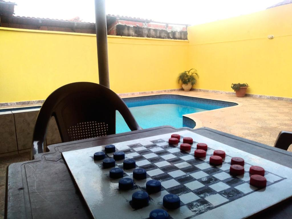 The swimming pool at or near Hostel Aconchego