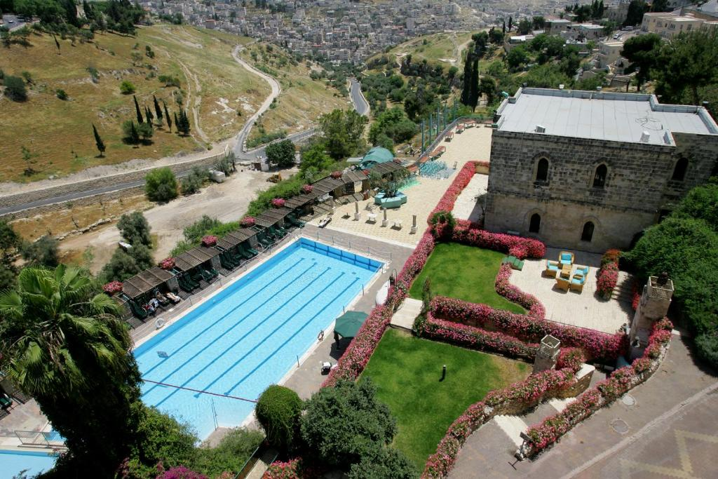 A bird's-eye view of Mount Zion Boutique Hotel