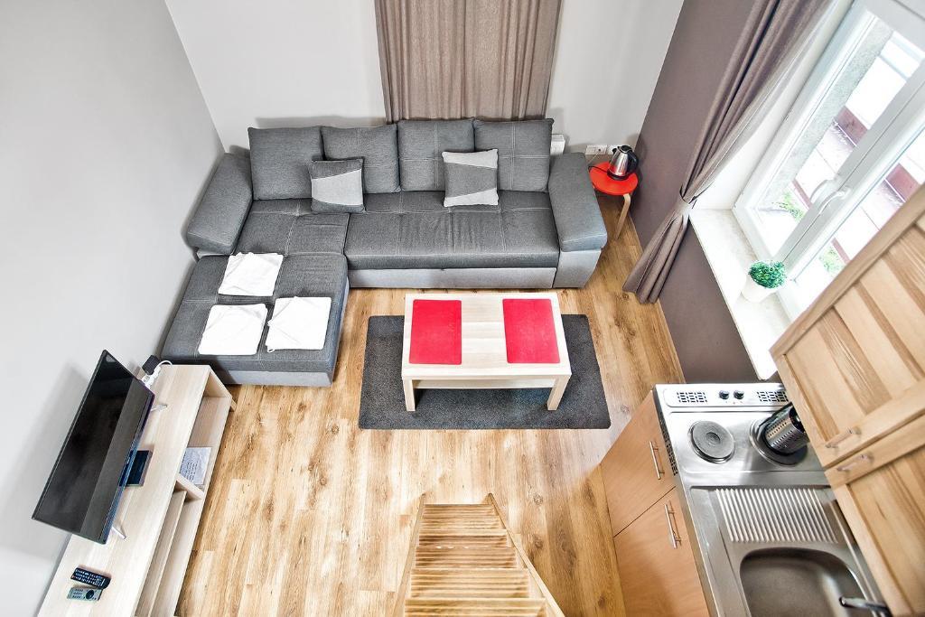The floor plan of Smart Apart Hotel