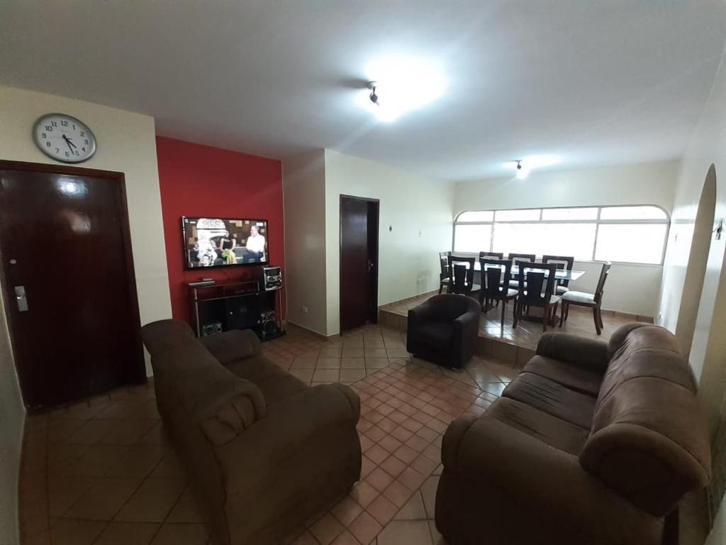 A seating area at Goiânia Hostel - Pousada
