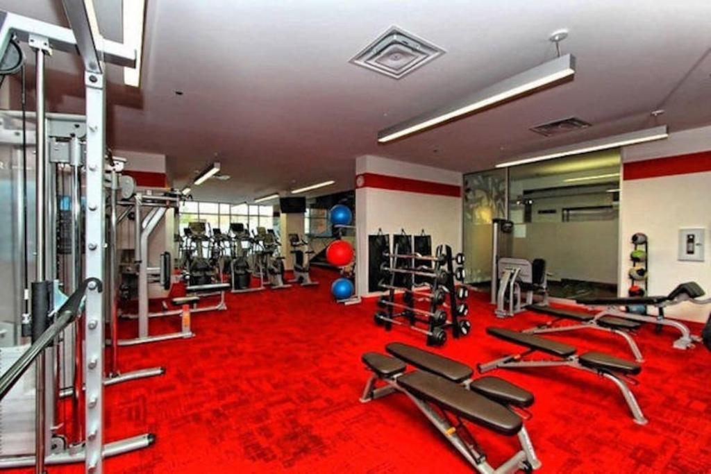The fitness center and/or fitness facilities at *** Lovely apartment downtown ***
