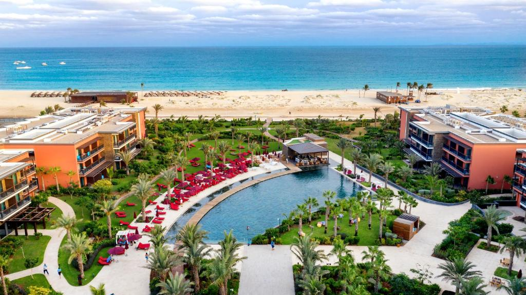 A bird's-eye view of Hilton Cabo Verde Sal Resort