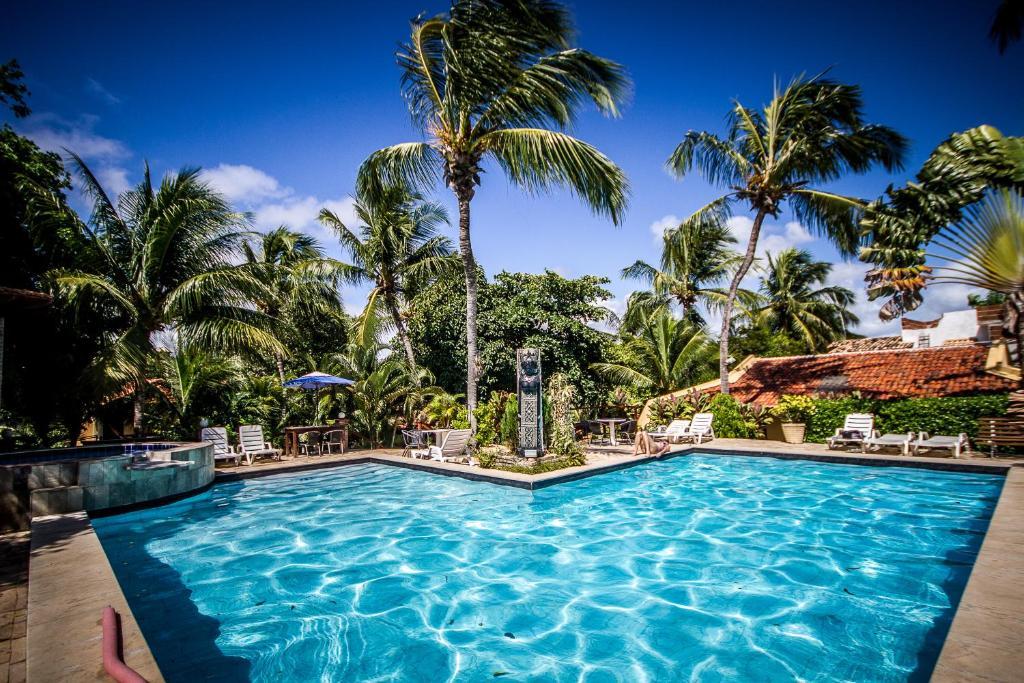 A piscina localizada em Pousada Cavalo Marinho ou nos arredores
