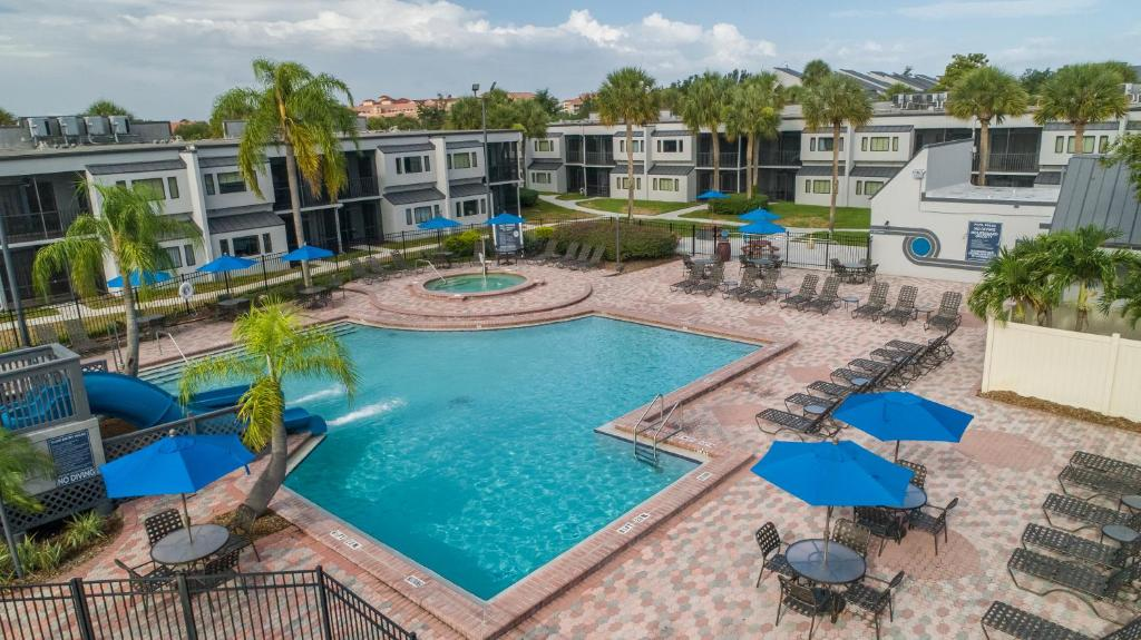 A view of the pool at Orbit One Vacation Villas By Diamond Resorts or nearby