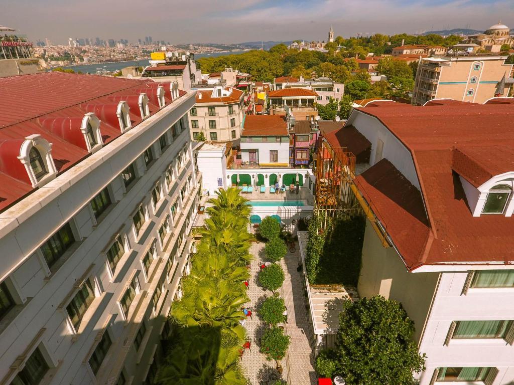 Sura Hagia Sophia Hotel с высоты птичьего полета