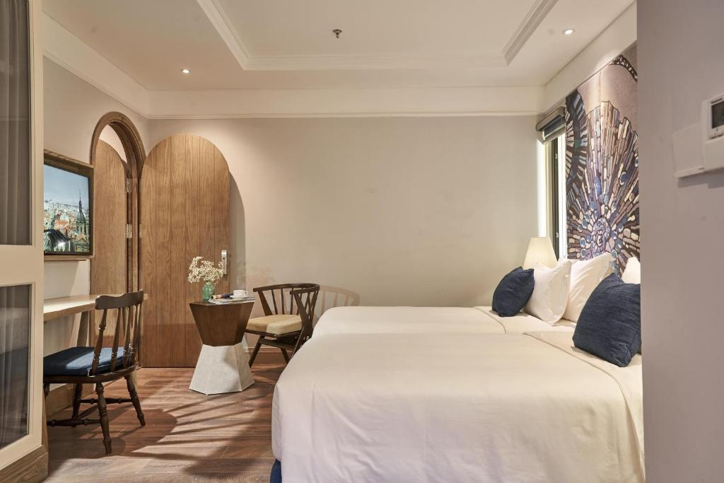 Phòng Deluxe 2 Giường Đơn - Lưu Trú 24 Giờ Linh Hoạt