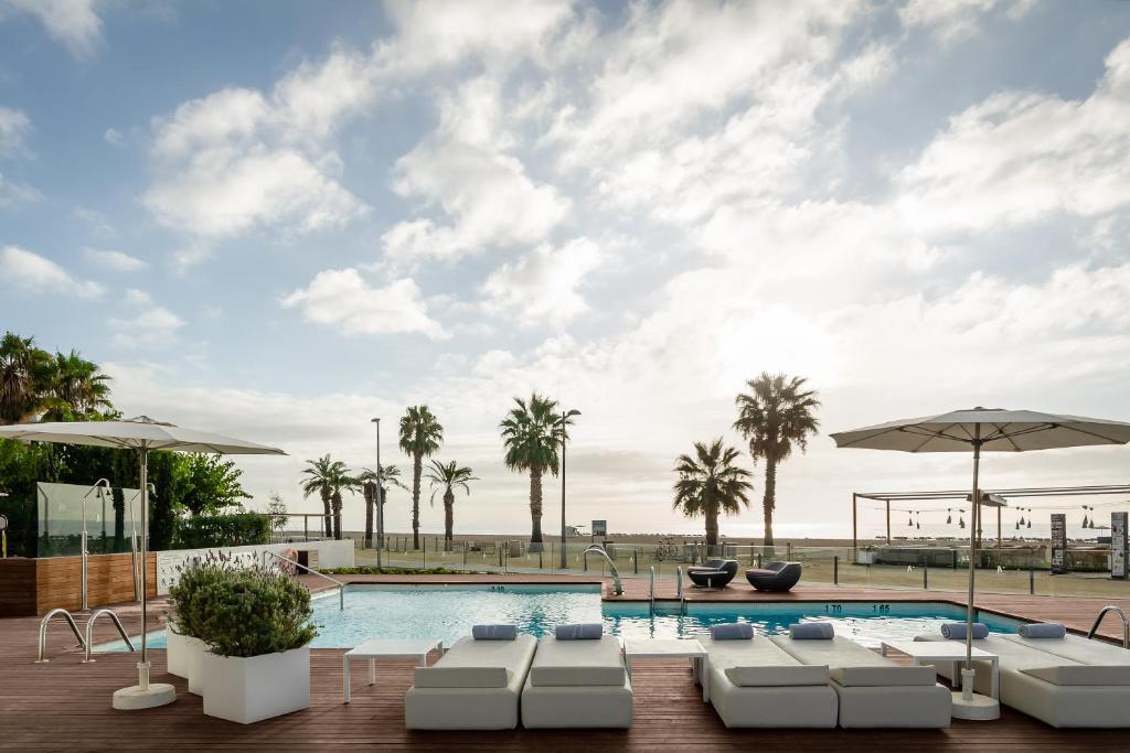 Piscina en o cerca de ALEGRIA Mar Mediterrania - Adults Only