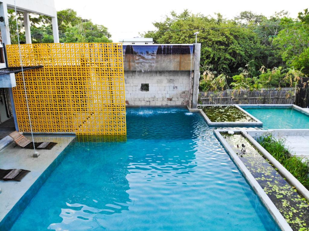 The swimming pool at or near Hotel Eco Boutique Makaabá
