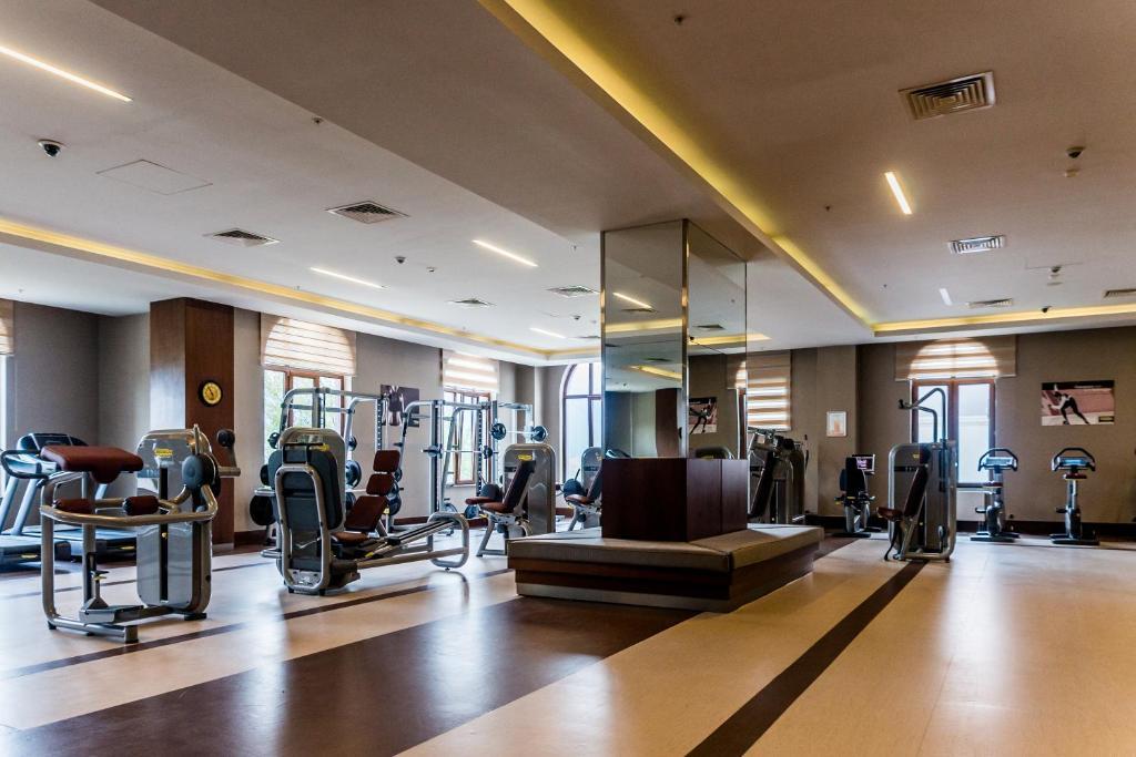 Фитнес-центр и/или тренажеры в Отель Корпоративный Центр Сбербанка
