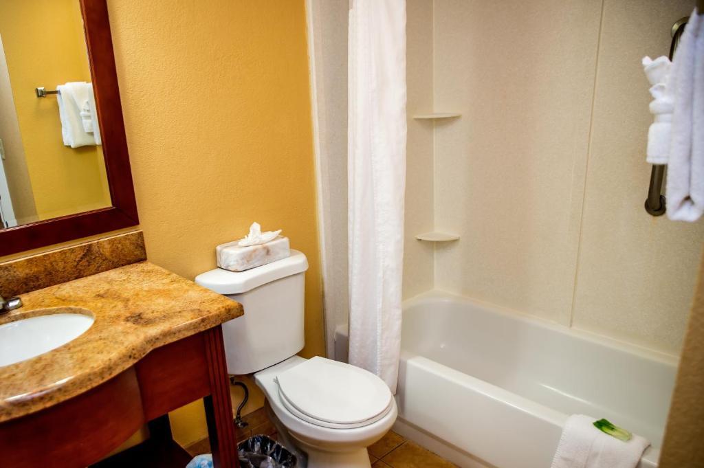 Ein Badezimmer in der Unterkunft Holiday Inn Express Hotel & Suites Cocoa Beach