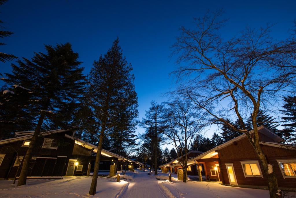 The Prince Villa Karuizawa during the winter