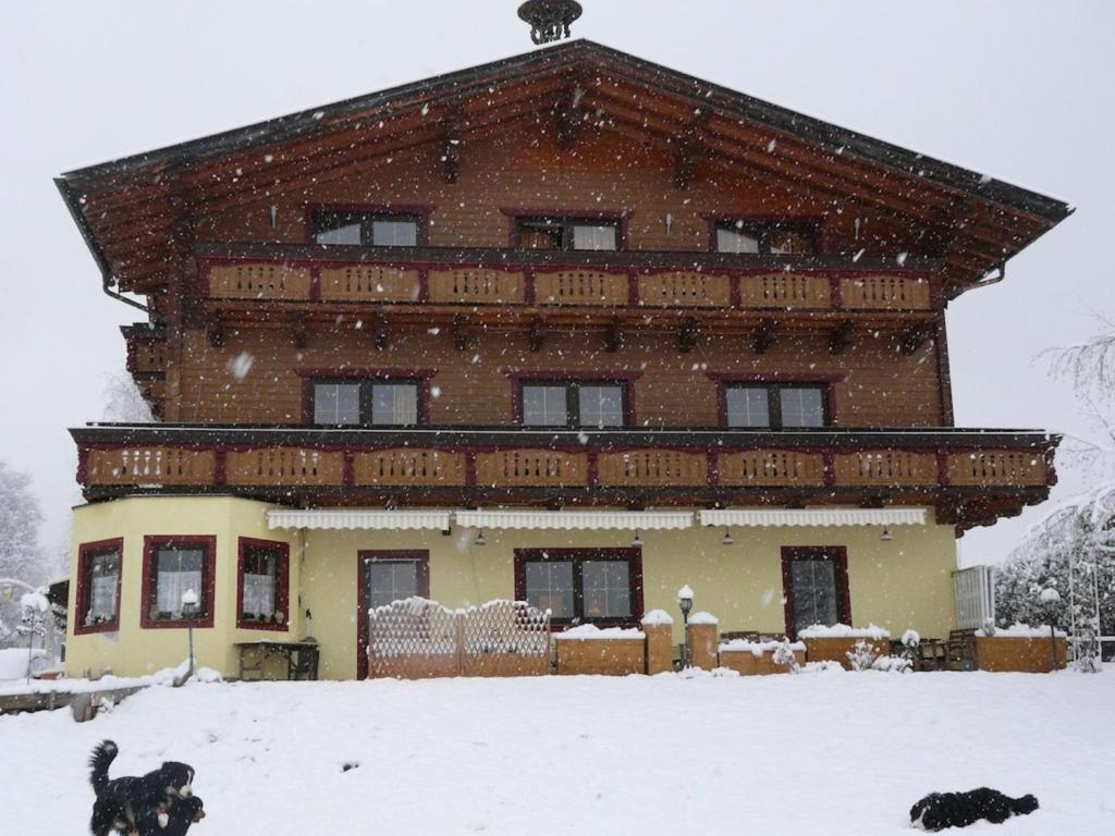 Landhaus Aubauerngut during the winter