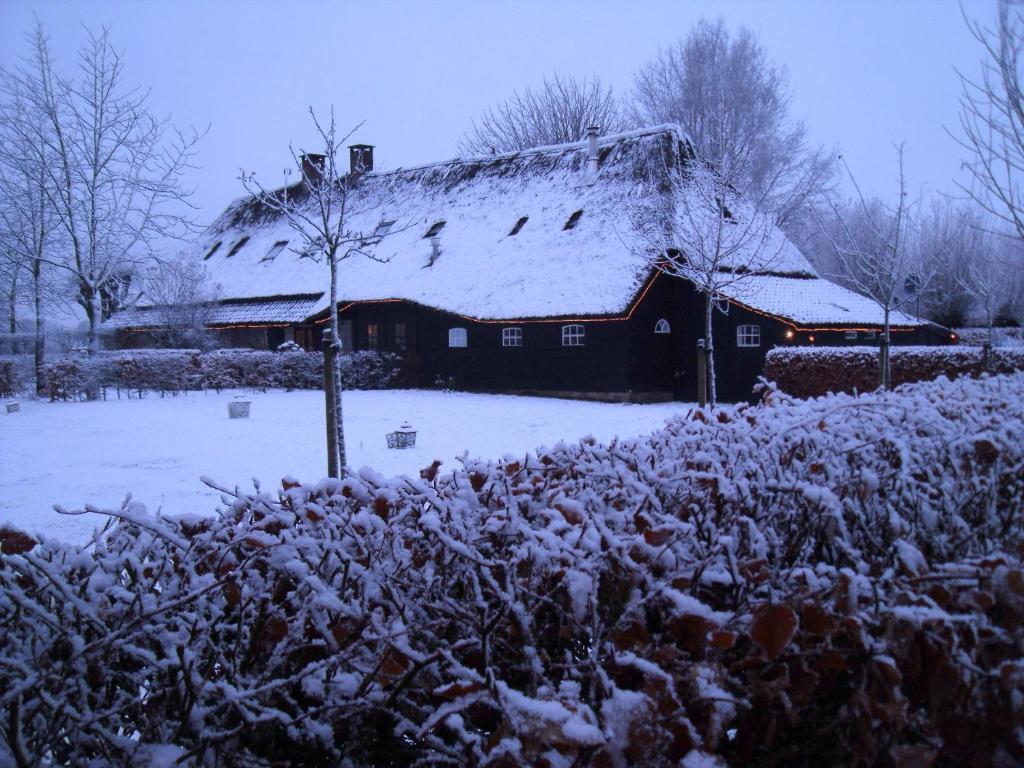 Hof van Vijfeijken in de winter