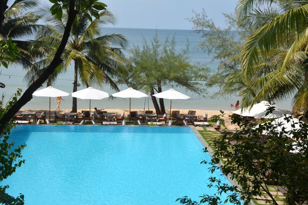 Bungalow Nhìn Ra Biển Và Hồ Bơi