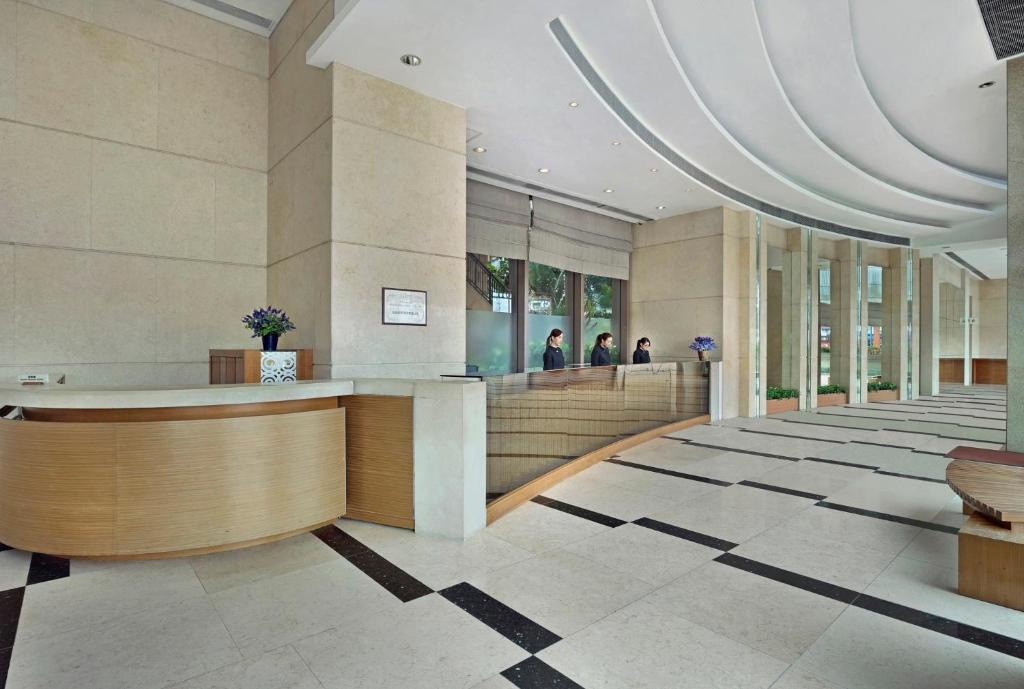 램블러 오아시스 호텔 로비 또는 리셉션