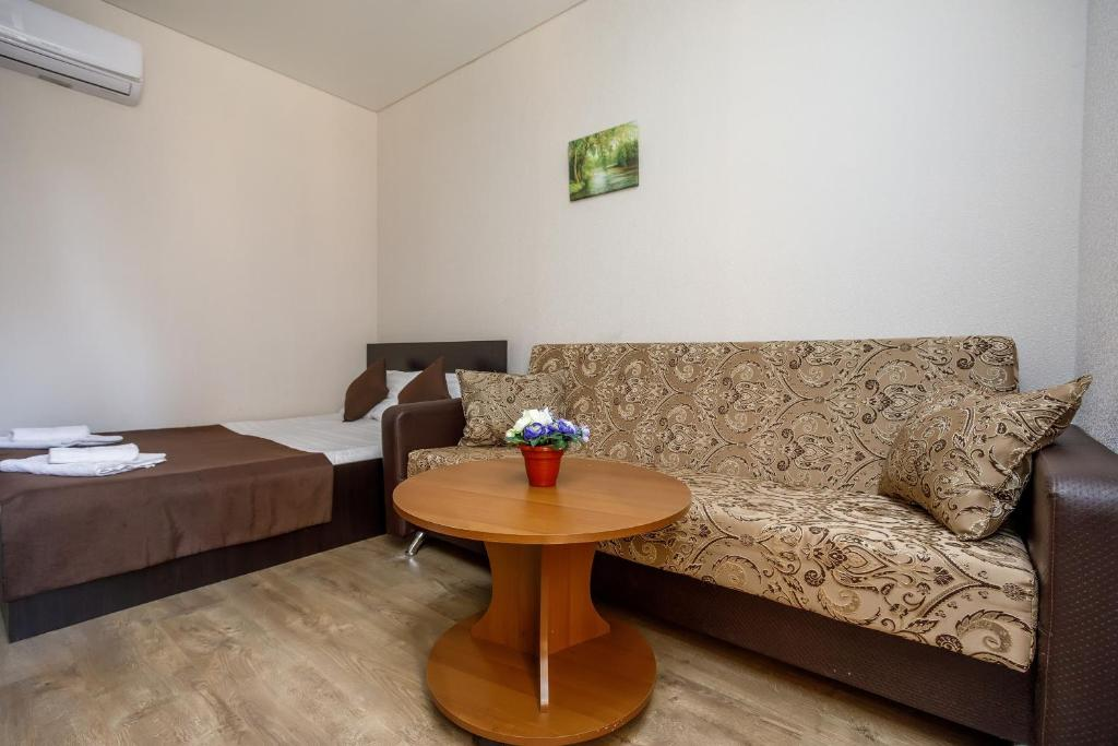 A seating area at Guest House Klever