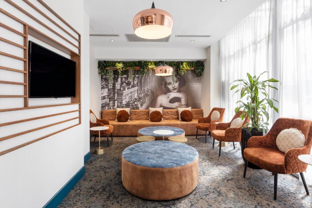 The lobby or reception area at Club Wyndham Sydney