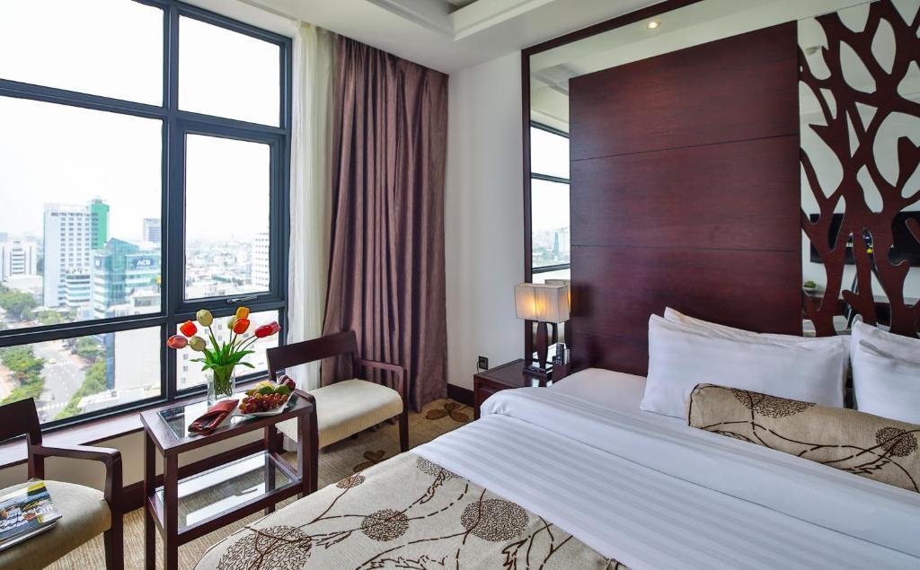 Phòng Deluxe Giường Đôi Nhìn ra Sông