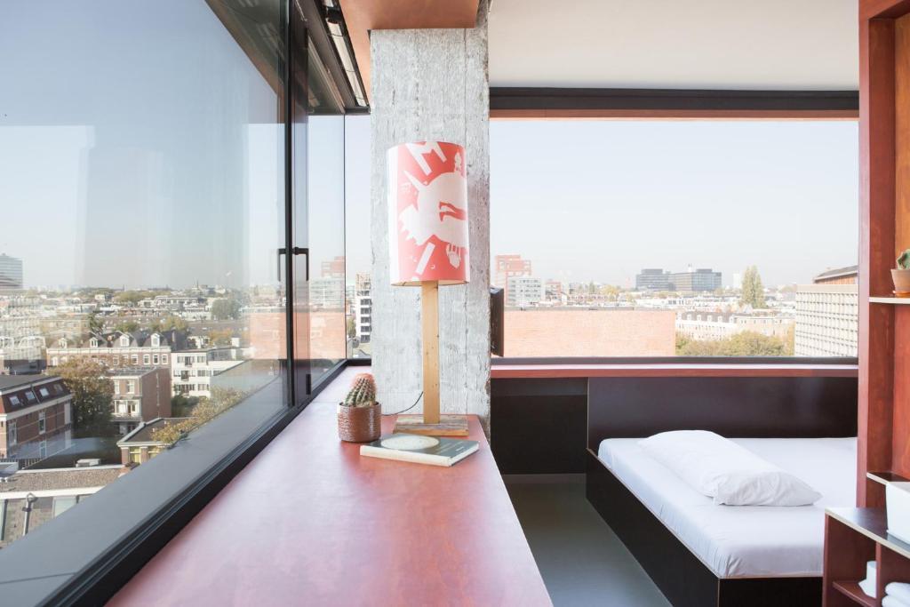 Balcon ou terrasse dans l'établissement Volkshotel