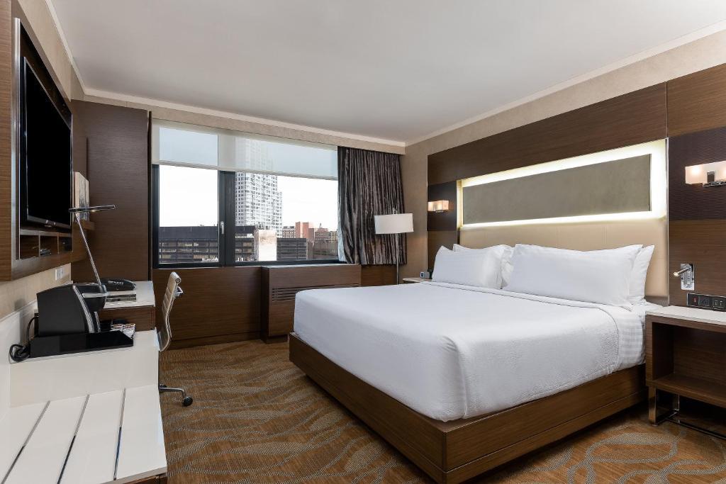 Cama o camas de una habitación en Holiday Inn Brooklyn Downtown