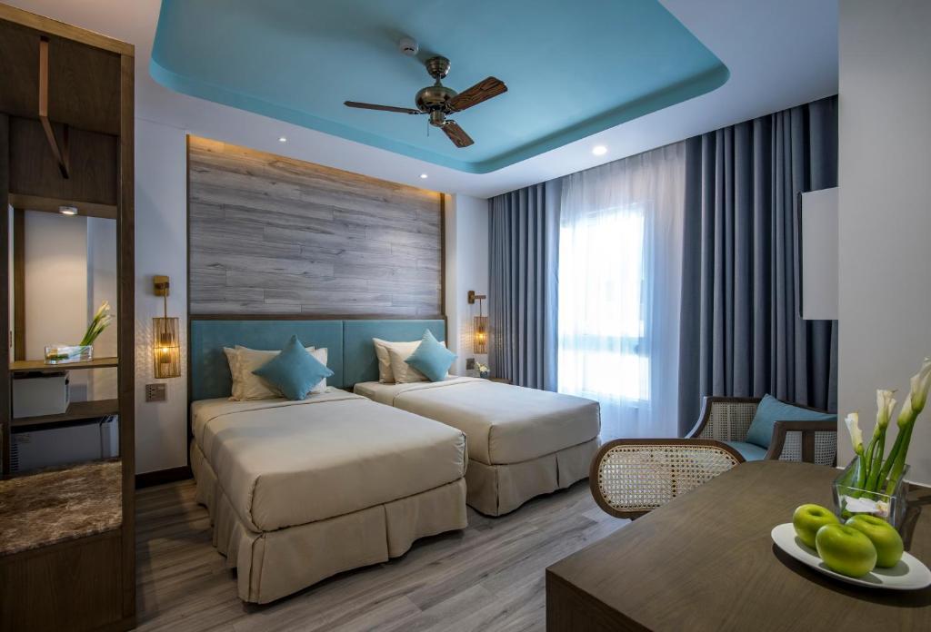 Phòng Premium 2 Giường Đơn (Nhìn Ra Bên Ngoài)