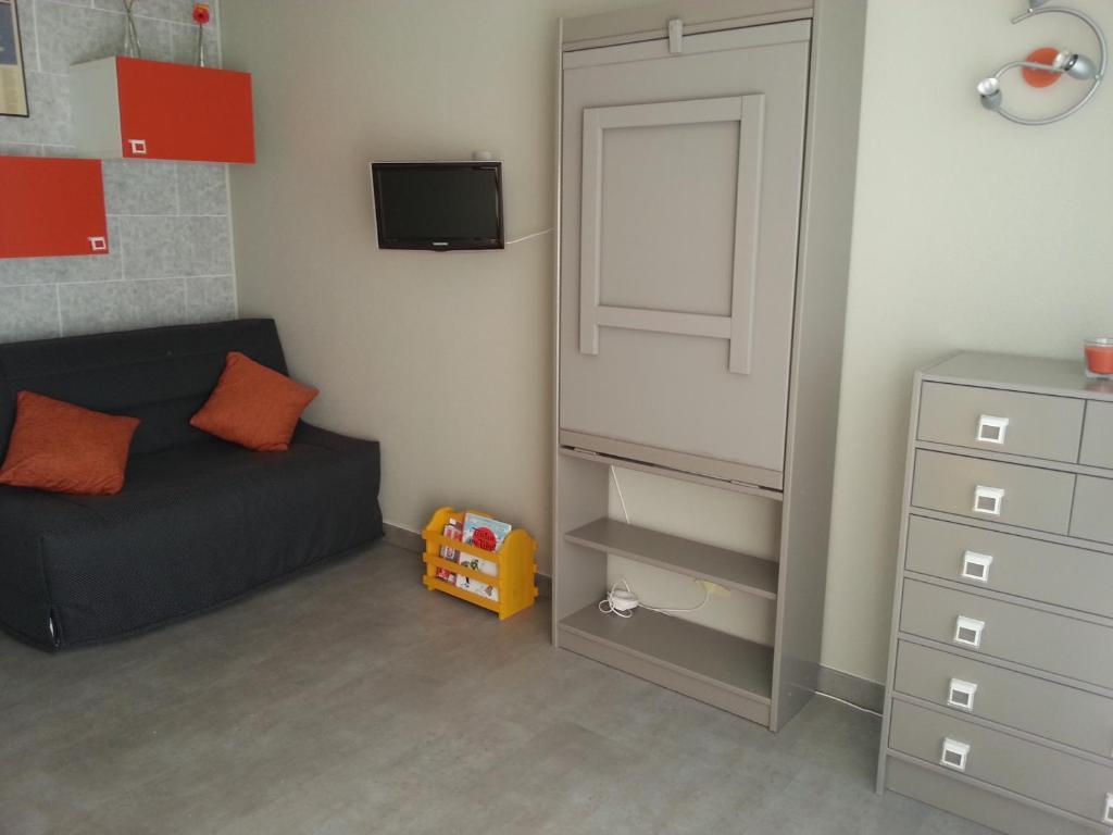 Lit Superposé 3 Étages apartment studio de la petite moucherolle, villard-de-lans