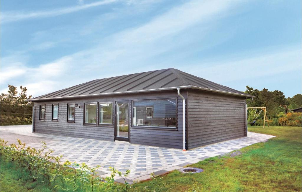 Four-Bedroom Holiday home Glesborg 0 01