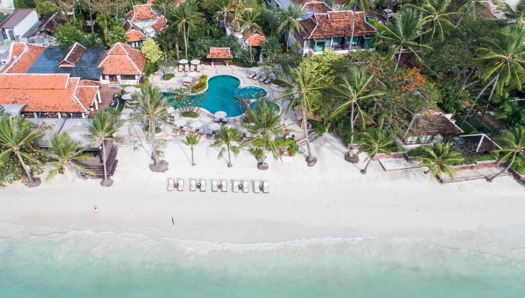 A bird's-eye view of Chaweng Regent Beach Resort