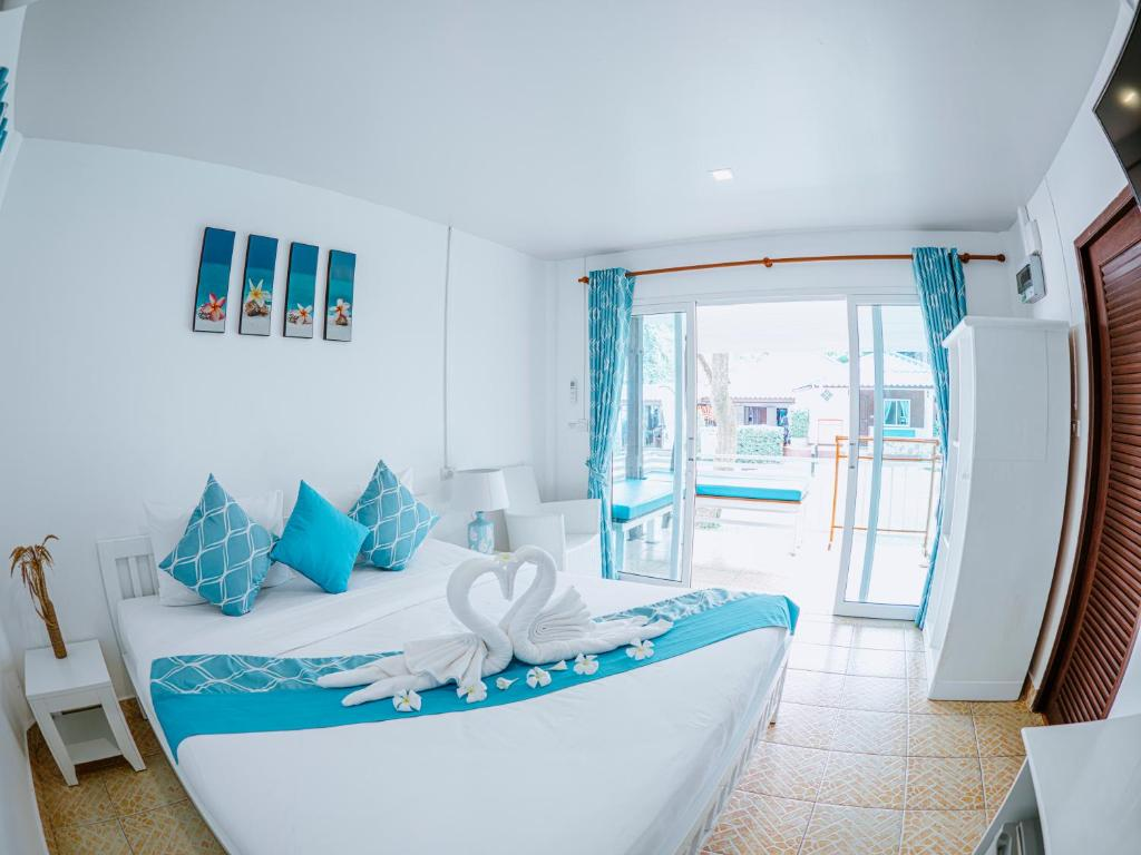 Et opholdsområde på Assava Dive Resort