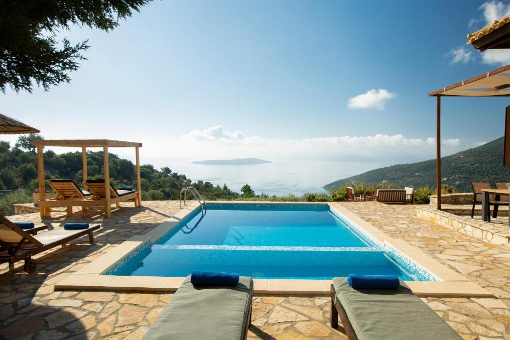 The swimming pool at or close to Ionian View Villas