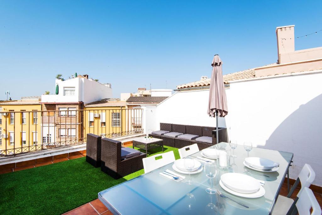 Apartment ático Céntrico Con Vistas Y Terraza Málaga Spain